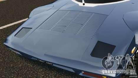 Lancia Stratos v1.1 для GTA 4 вид изнутри