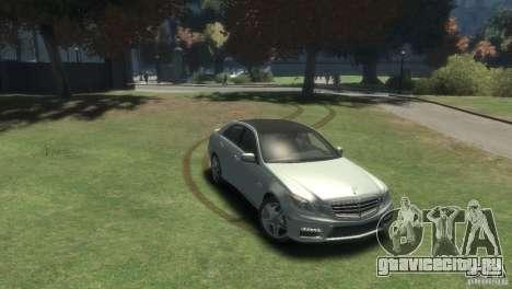 Mercedes Benz E63 AMG v2.0 для GTA 4 вид справа