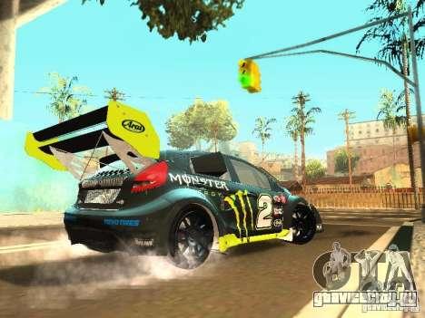 Ford Fiesta Rally Time для GTA San Andreas вид справа