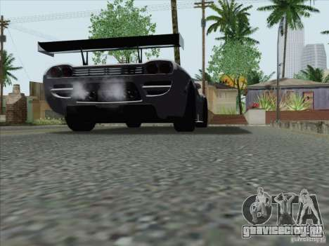 Saleen S7 Twin Turbo Competition Custom для GTA San Andreas вид сзади слева