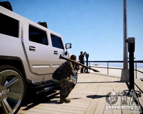 CoD Black Ops Hudson для GTA 4 девятый скриншот