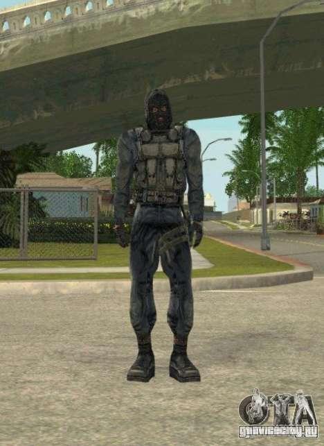 Группировка Наёмники из сталкера для GTA San Andreas девятый скриншот