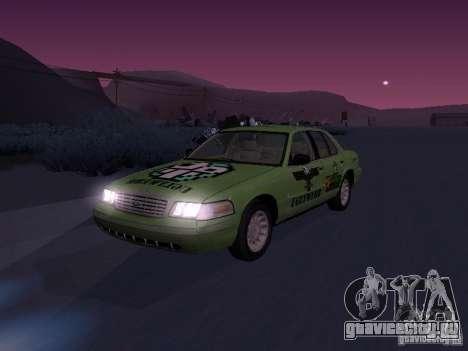 Ford Crown Victoria для GTA San Andreas вид сверху