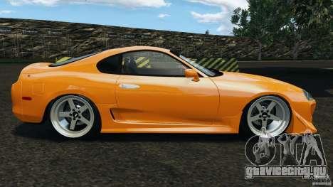 Toyota Supra Tuning для GTA 4 вид слева
