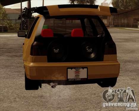 VW Golf MK 4 low & slow для GTA San Andreas вид справа