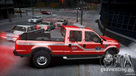 Ford Chief F250 для GTA 4 вид изнутри
