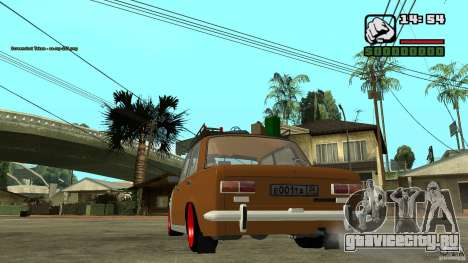 Lada 2101 OnlyDropped для GTA San Andreas вид справа