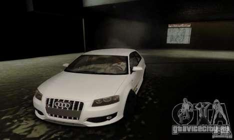 Audi S3 для GTA San Andreas вид сверху
