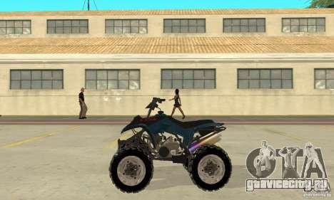 Honda Sportrax для GTA San Andreas вид слева