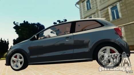 Volkswagen Polo v2.0 для GTA 4 вид сзади слева