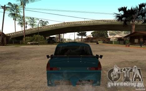 АЗЛК 412 Tuning для GTA San Andreas вид сзади слева