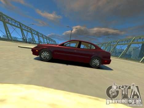 Daewoo Leganza CDX для GTA 4 вид слева