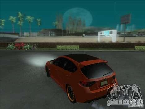 Subaru Impreza WRX STi для GTA San Andreas колёса