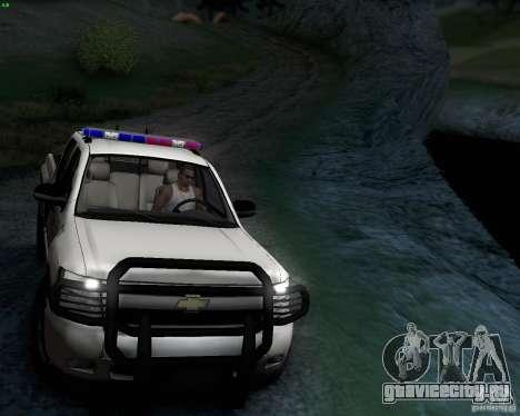 Chevrolet Silverado Police для GTA San Andreas