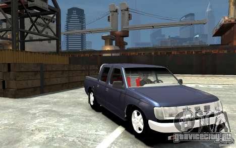Nissan Pickup V 2005 для GTA 4 вид сзади