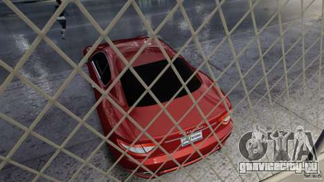 Maserati Gran Turismo 2008 Beta для GTA 4 вид сзади