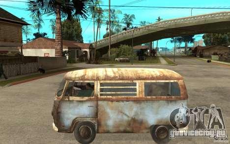 Dharma-Van (VW Typ 2 T2a) для GTA San Andreas вид слева