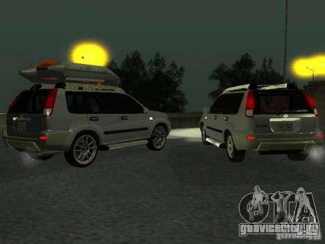 Nissan X-Trail для GTA San Andreas вид изнутри