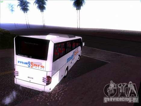 Mercedes Benz Tourismo 16 RHD для GTA San Andreas вид сзади