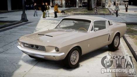 Shelby GT500 1967 для GTA 4