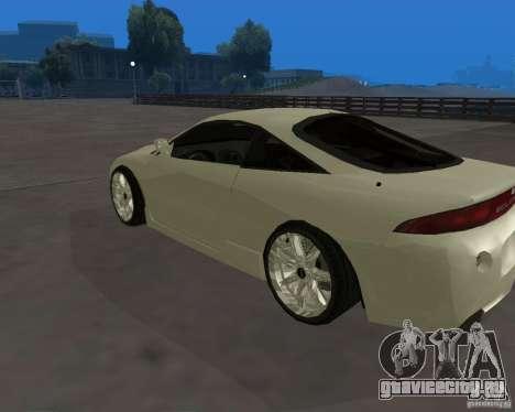 Mitsubishi Eclipse Tunable для GTA San Andreas вид слева