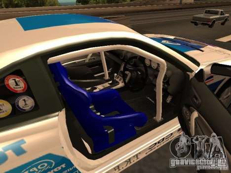 Nissan s15 Performa Drift для GTA San Andreas вид сзади слева