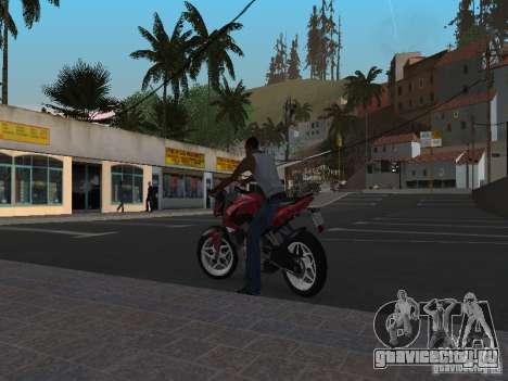 Bajaj Pulsar 200NS 2012 для GTA San Andreas вид слева
