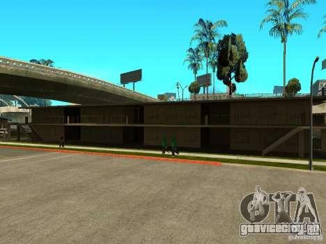 New Grove Street TADO edition для GTA San Andreas седьмой скриншот