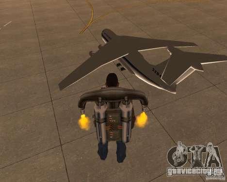 Ил-76 для GTA San Andreas вид слева