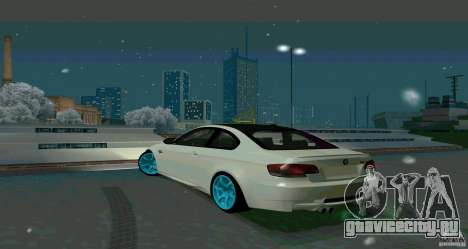 BMW E92 для GTA San Andreas вид справа