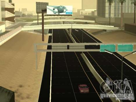 New Roads in San Andreas для GTA San Andreas четвёртый скриншот