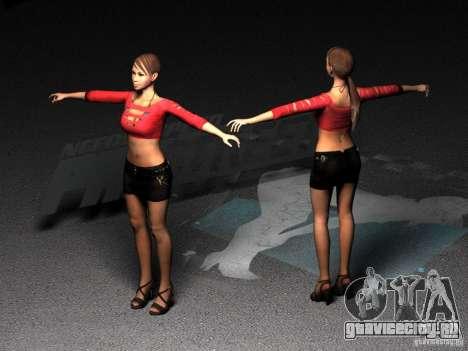 Skin Girl NFS PS для GTA San Andreas