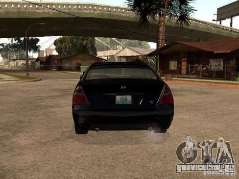 Nissan Teana для GTA San Andreas вид справа