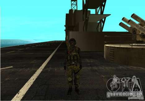 Скин из Battlefield 3 для GTA San Andreas