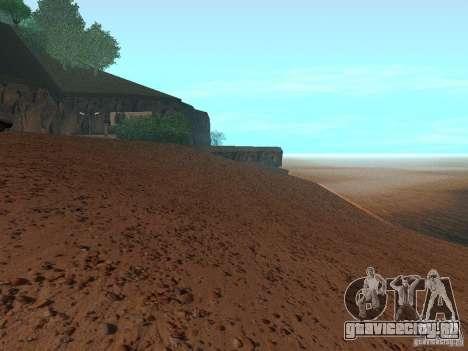 HQ Пляж v1.0 для GTA San Andreas четвёртый скриншот