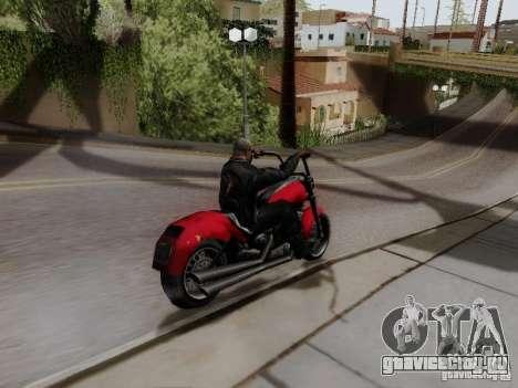 Vice City Freeway для GTA San Andreas вид сзади слева
