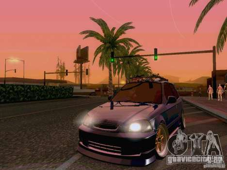 Honda Civic JDM Hatch для GTA San Andreas