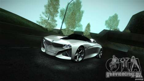 BMW Vision Connected Drive Concept для GTA San Andreas вид справа