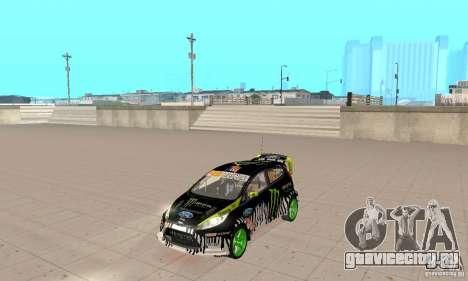 Ford Fiesta 2011 Ken Blocks для GTA San Andreas