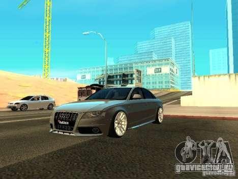 Audi S4 2010 для GTA San Andreas вид сверху