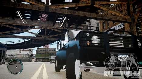 Land Rover Defender для GTA 4 вид сбоку