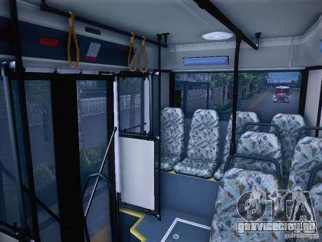 Ikarus 415 для GTA San Andreas вид изнутри