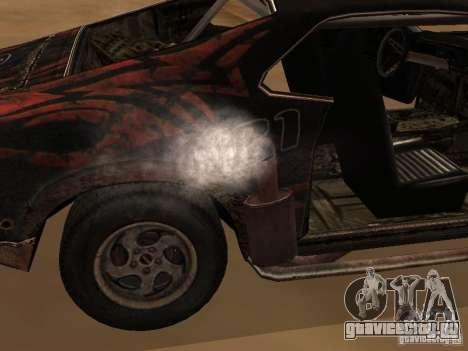 Car from FlatOut 2 для GTA San Andreas вид сзади слева