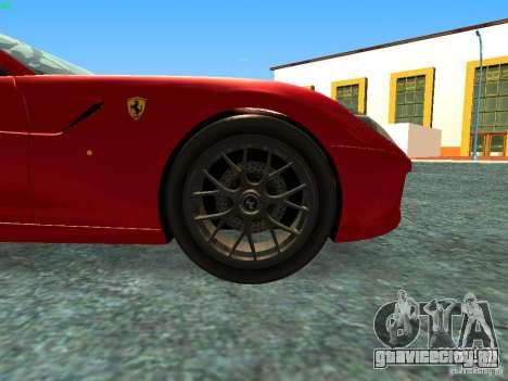 Ferrari 599 GTB для GTA San Andreas вид справа