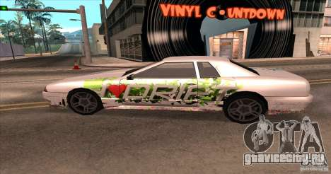 Paintjob for Elegy для GTA San Andreas вид справа