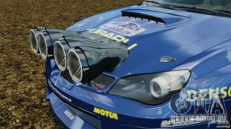 Subaru Impreza WRX STI N12 для GTA 4 вид сверху