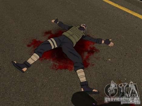 Hatake Kakashi From Naruto для GTA San Andreas второй скриншот