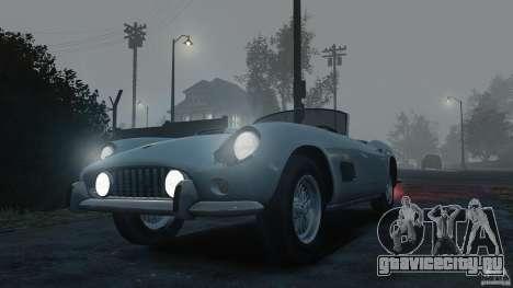 Ferrari 250 California 1957 для GTA 4 вид справа