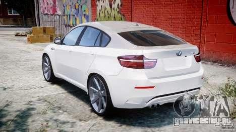 BMW X6M v1.0 для GTA 4 вид сзади слева