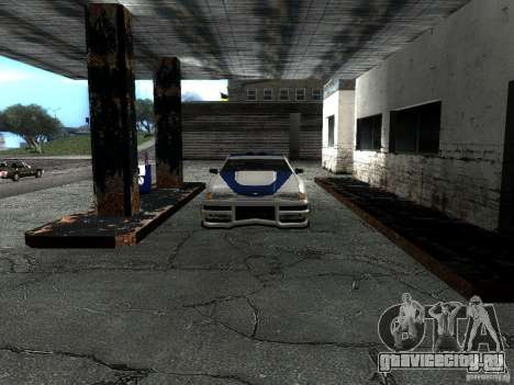 Винил с BMW M3 GTR в Most Wanted для GTA San Andreas вид изнутри
